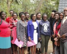 As section of the Kisii and Migori County KUJ Chapter members