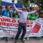 KUJ Nakuru Chapter marking World Press Freedom Day