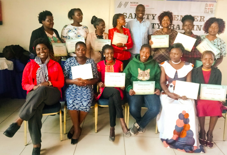 Gender Equality and Safety for Journalists and Photographers in Kenya